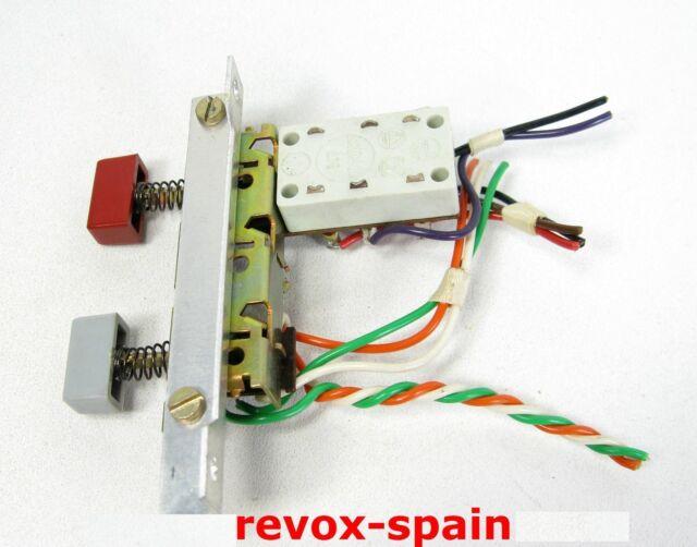 STUDER REVOX A77 Reel Deck SPEAKER / REEL MOTOR CONTROLADORA CON BOTONES