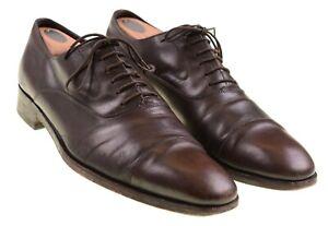 black balmoral oxford dress shoes