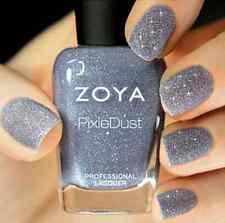 ZOYA PixieDust ZP660 NYX periwinkle matte sparkle nail polish lacquer PIXIE DUST