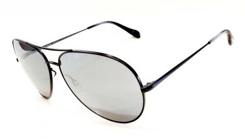 Matt Black//Silver Mirror  Size 48 NEW Oliver Peoples OV1201S  Sayer Col