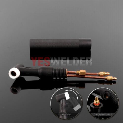 TIG Welding Torch Head Body 18FV Flex Valve Water-Cooled 350A WP-18FV