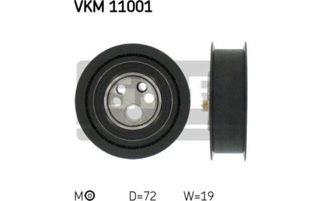 SKF Polea tensora (correa dentada) AUDI 80 COUPE 100 A6 CABRIOLET VKM 11001
