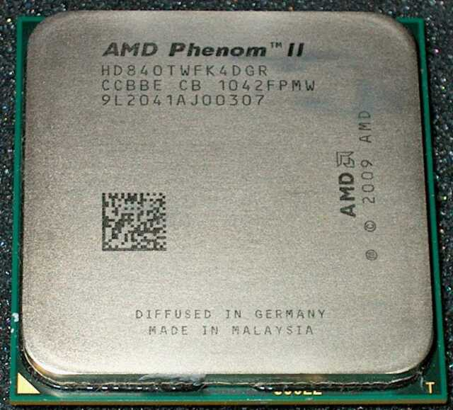 Amd Phenom Ii X 4 2 9 Ghz Quad Core 840t Processor Hd840twfk4dgr For Sale Online Ebay