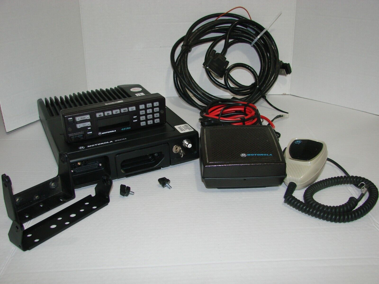 Complete Motorola VHF Astro Spectra Mobile Radio BIN $185 With Free Shipping. Buy it now for 185.00