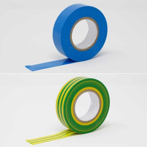 Iso-Band Elektriker-Tape 0,17€//m 7 Farben Rolle à 20m 19mm Isolierband