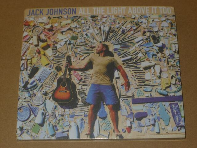 All the Light Above It Too by Jack Johnson (CD, Sep-2017, Island (Label))