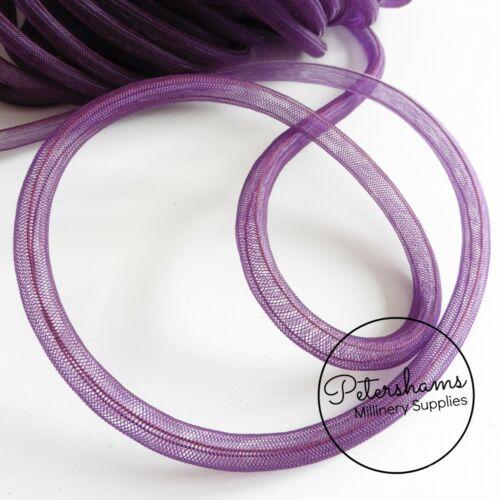 for Millinery /& Fascinators 8mm Tube Millinery Crin Crinoline, Horsehair Braid