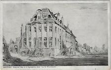 Nieuwpoort Hôtel de Ville 10 septembre 1916 par M. Wagemans verstuurd in 1920