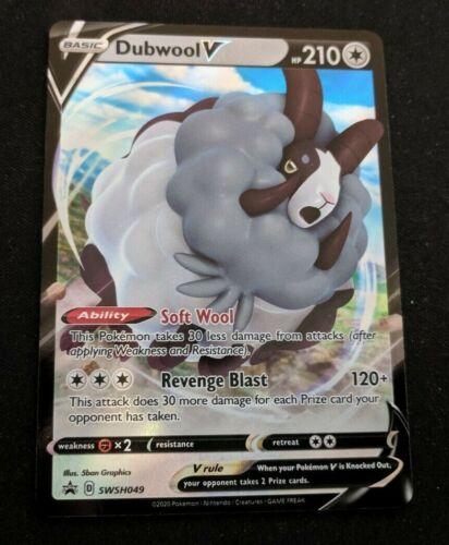 MINT Dubwool V SWSH049 Promo Champion/'s Path Pokemon Card NM