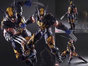 Marvel-Play-Arts-Kai-Wolverine-Action-Figurine-Statue