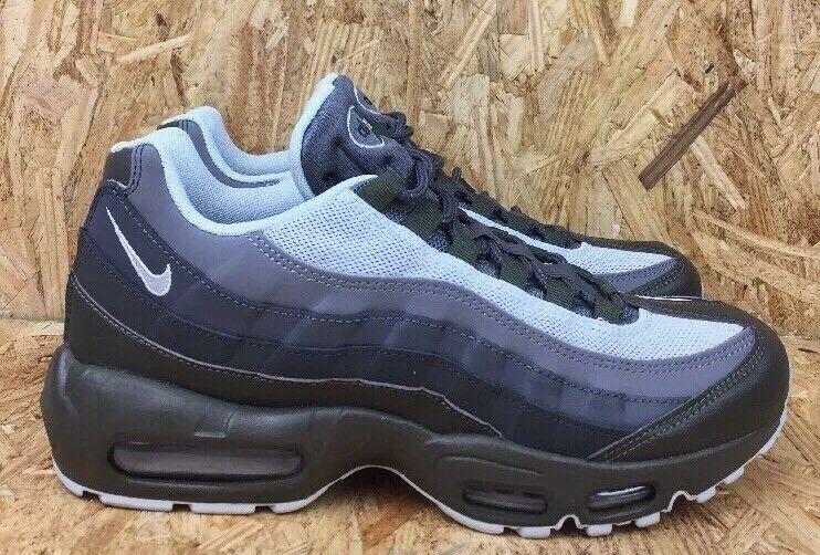 Nike max air max Nike 95 größe 8,5 wesentlichen männer fracht khaki mit olive platin c9b829