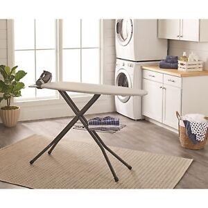 Details About Folding Ironing Board Iron Holder Laundry Storage E Saver Table