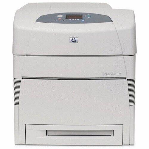 HP Color Laserjet 5550DN Farb Laserdrucker Duplex LAN Netzwerk DIN A3 Drucker mi