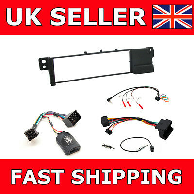 Connects2 CTKBM07 To Fit BMW 3 Series E46 Single Din Stereo Facia Fitting Kit