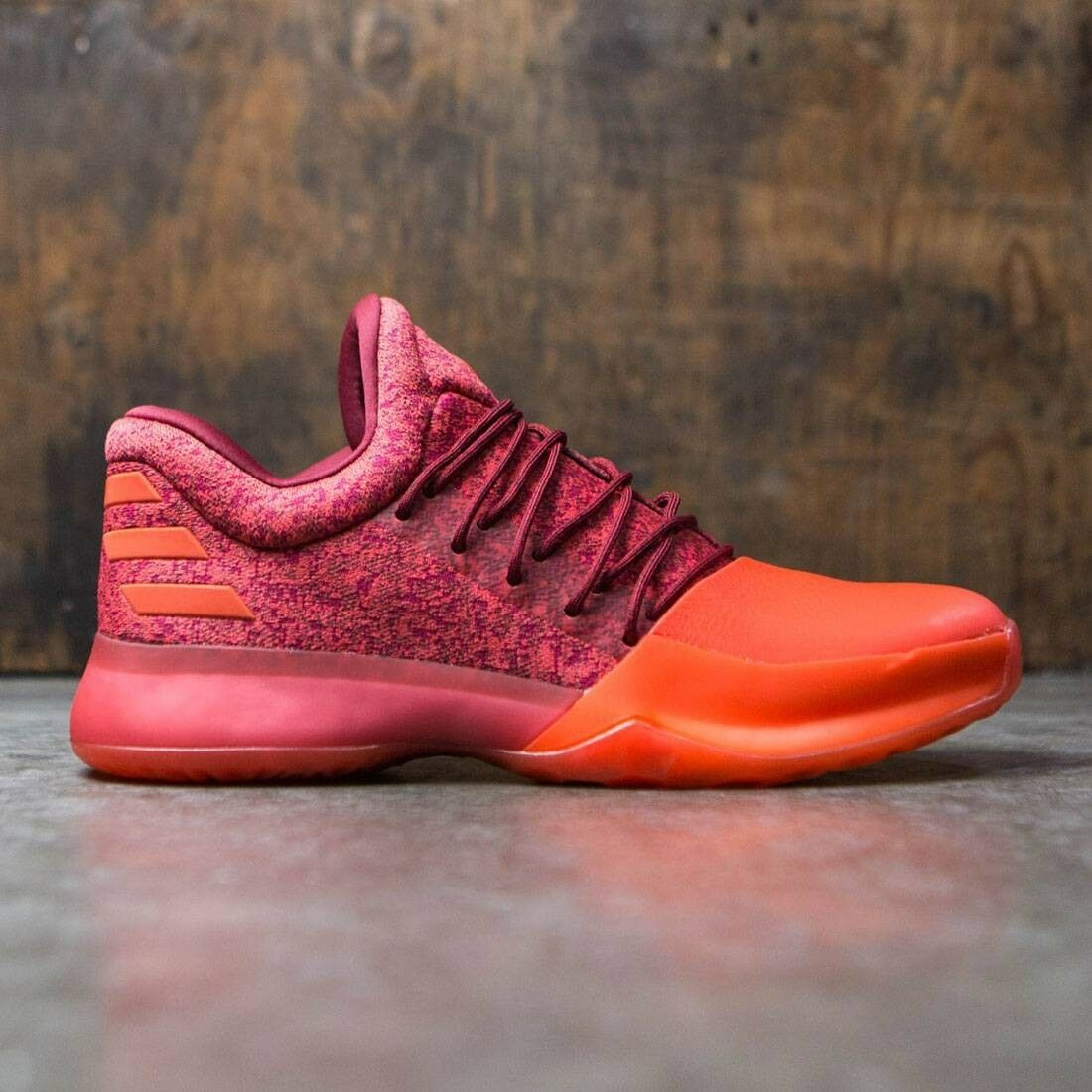 Adidas Basketball James Harden Vol.1 Red orange shoes Boost New Men NBA Sz 13