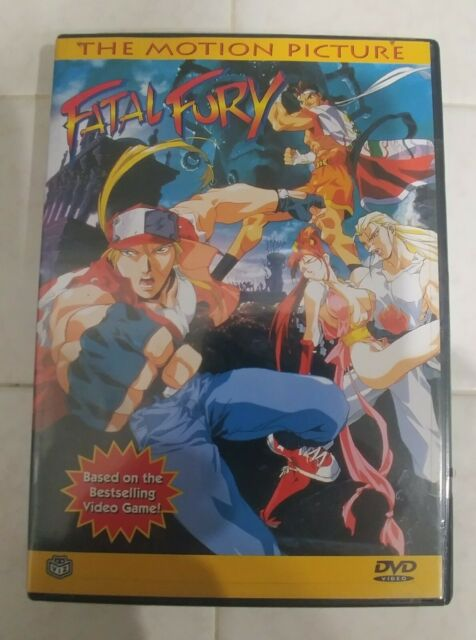 Fatal Fury The Motion Picture Dvd 1999 For Sale Online Ebay
