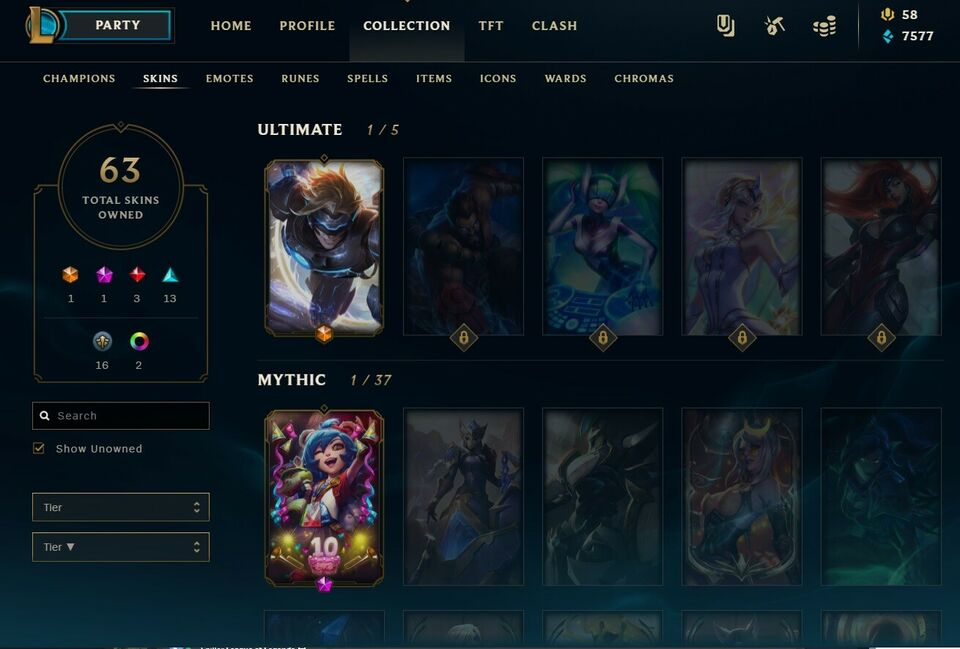 League of legends Account, til pc, til Mac