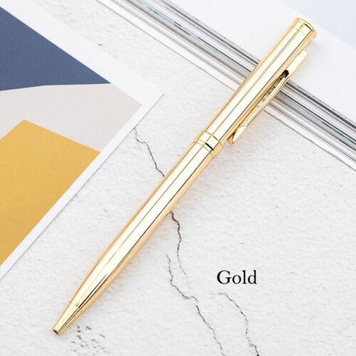Luxury Metal Ballpoint Signature Ball Point Writing Pen School Office Stationery