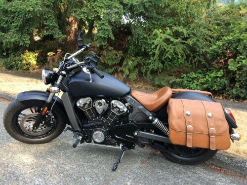 MIRROR CONVEX aluminum CLASSIC MX BLACK for Harley softail dyna v-rod sportster