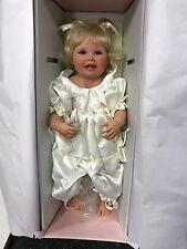 Gerlinde Feser Vinyl Puppe 65 cm. Top Zustand