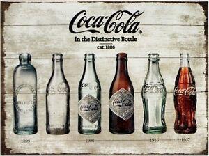 Kleiner Cola Kühlschrank : Coca cola timeline nostalgie kühlschrank magnet 6x8 cm tin sign