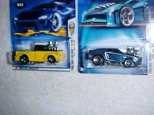 MATTEL-HOTWHEELS-HW-2003-FIRST-EDITIONS-039-68-MUSTANG-amp-039-41-FORD-PICKUP-VHTF-NEW