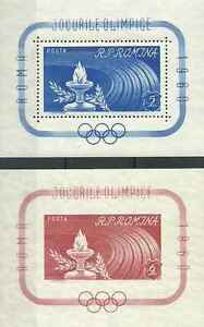 Timbres-Sports-JO-Roumanie-BF47-8-lot-13617