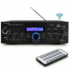 Pyle PDA5BU 200W Bluetooth Stereo Mini Amplifier with FM Radio, MP3/USB/SD/AUX