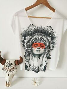 Tee-shirt femme taille S neuf Indienne