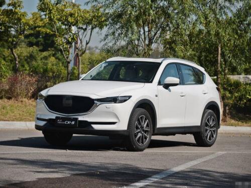 Carbon Fiber Door Handle Bowl Cover For Mazda cx 5 cx5 2017 2018 Accessories