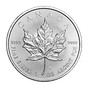 Lot of 25 x 1 oz 2019 Canadian Maple Leaf Silver Coin