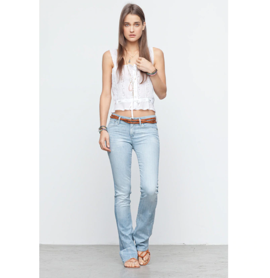 NEW COH Citizens of Humanity 30 Emmanuelle Slim Stiefelcut Jeans in Sorbet  238