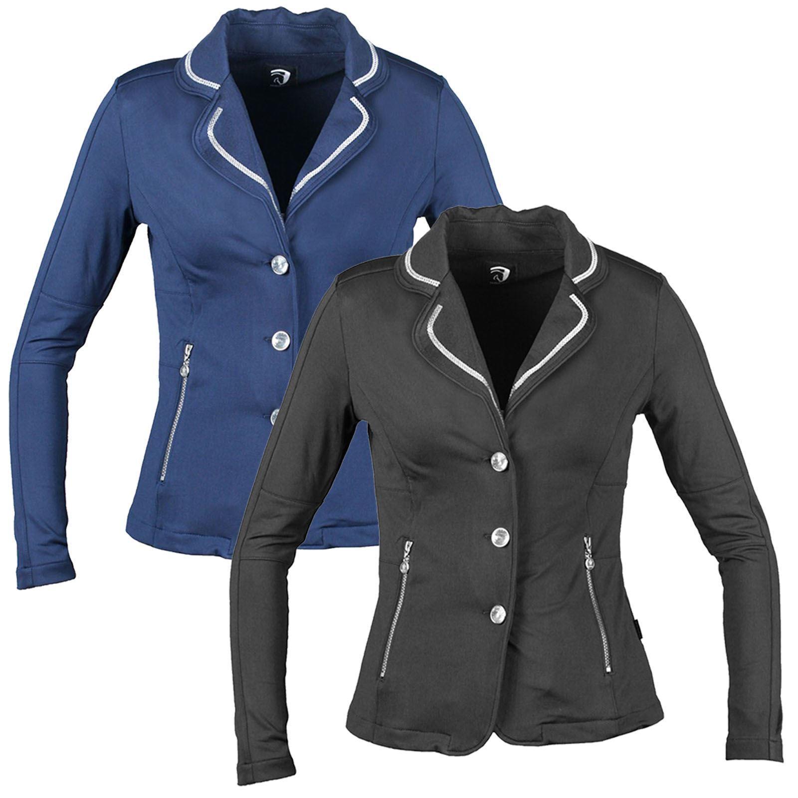 HARKA Donna Equitazione Concorso Equitazione Equestre DDinamica giacca con cerniera NUOVO