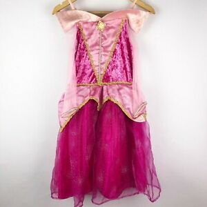 Disney-Parks-Aurora-Sleeping-Beaty-Pink-Dress-Up-Costume-Girls-Size-M-7-8