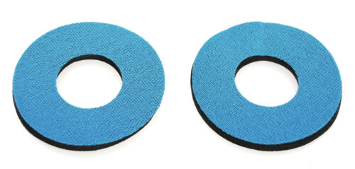 Flite old school BMX bicycle grip foam donuts SLATE BLUE *MADE IN USA*