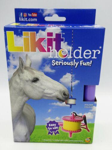 Likit Holders PLUS 650g Refill Treats Boredom Breaker Stable Horse Toy