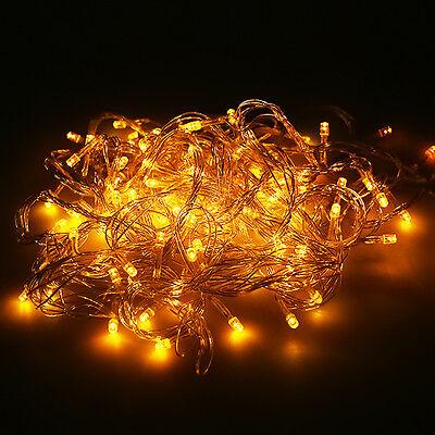 10M/100 20M/200 LED Bulbs Fairy Bright Xmas String Lights Decor Christmas Lamp