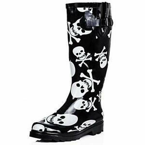 db31ff74dea Details about LADIES WOMENS WELLIES WYRE VALLEY FESTIVAL WATERPROOF RAIN  WELLINGTON BOOTS