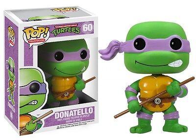 Teenage Mutant Ninja Turtles 60 Donatello Pop! TV Funko Vinyl Figure Brand New