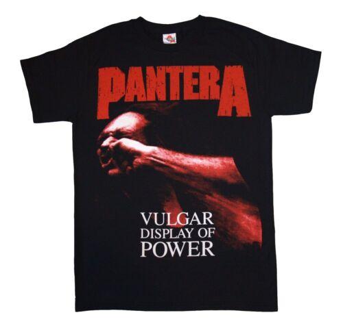 PANTERA Red Vulgar T SHIRT S-M-L-XL-2XL Brand New Official Bravado Merchandise