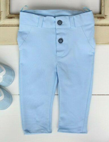 Baby Boy Trousers Pageboy Little Gentleman Blue 0-18M