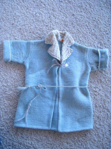 Vintage 1940s BEACON Toddlers Childs Blue Robe Bat