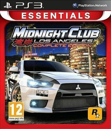 Midnight Club - Los Angeles Complete Edition (Sony PlayStation 3, 2015)
