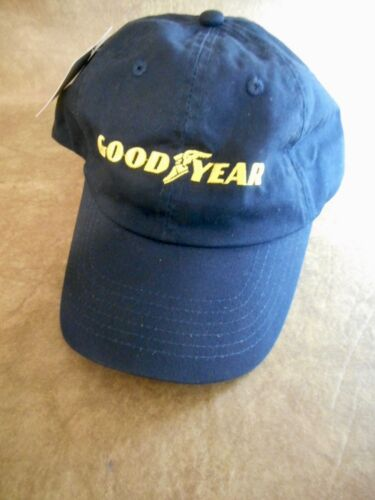 FREE SHIPPING NEW WITH TAGS GOODYEAR BASEBALL HAT ADJUSTABLE