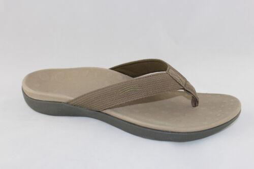 Orthaheel Scholl Orthotic//Orthotics Wave Thongs Flip Flops Khaki All sizesUnisex