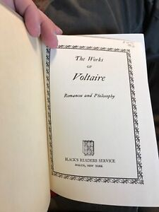 The Best Known Works of Voltaire 1927