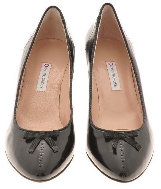 New L'AUTRE CHOSE damen damen damen Leather Evening Pump schuhe Sz 10.5 M Euro Sz 41  218b7f