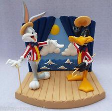 Wedgwood Looney Tunes Night Of Nights Daffy Duck Bugs Bunny Ltd Ed Figurine MIB