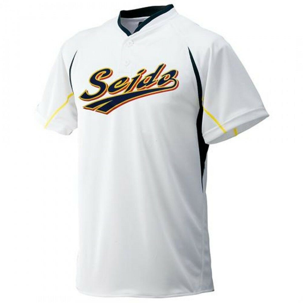 PSL MIZUNO Ace of Diamond Baseball Shirts Jersey SEIDOU High School SAWAMURA