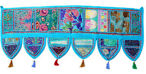 Indian-Handmade-Ethnic-Toran-Diwali-Decoration-Embroidered-Garland-Door-Hanging